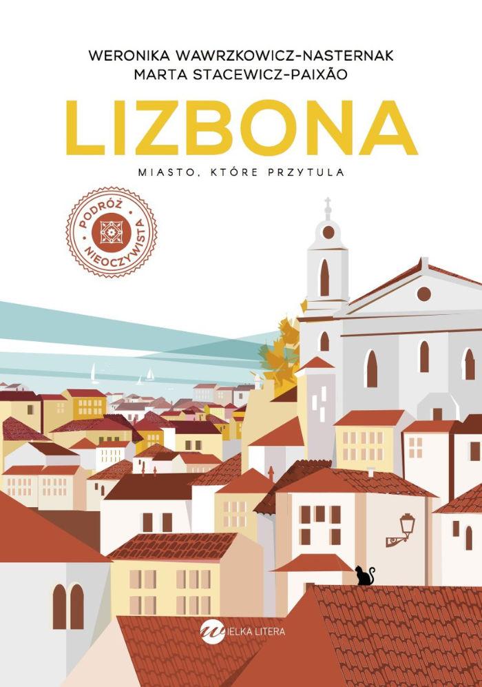 Książka podróżnicza o Lizbonie.