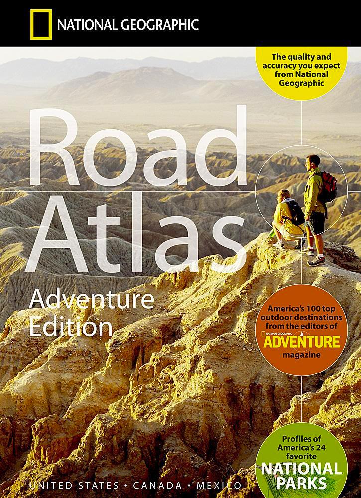 USA Kanada Meksyk - atlas samochodowy National Geographic.